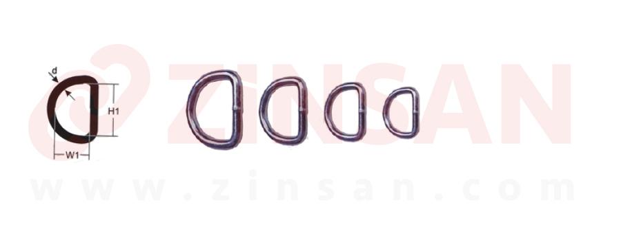 حلقات على شكل D