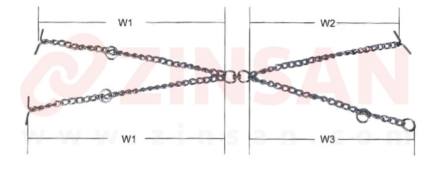Первоклассные кормовые цепи (двух рычажные)
